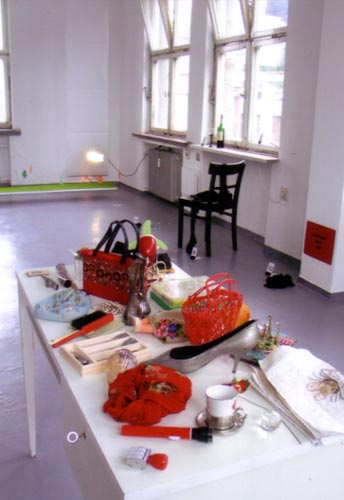 Kunstsommer 2003 im Ateliereröffnung und Ausstellung Austrasse