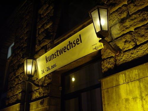 Kunstwechsel 2000 in der ehem. Landeszentralbank