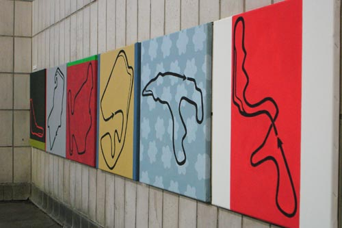 Gruppe 3/55 Kunstsommer 2004 Festes, Flüssigen und Gasförmiges