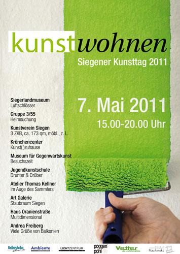 Kunstwohnen 2011 Plakat