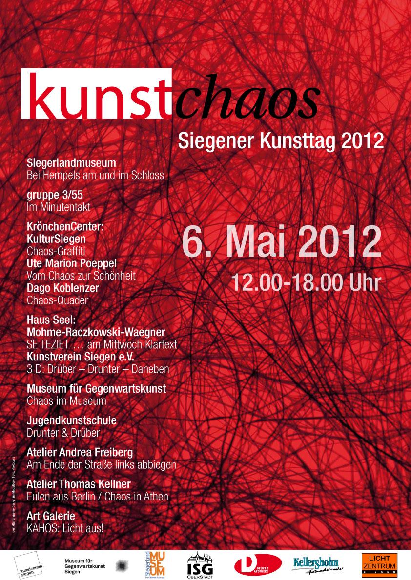 KUNSTCHAOS zum Siegener Kunstsommer 2012