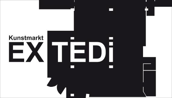 Kunstmarkt Ex_Tedi im Cafe des KUNSTWECHSELS