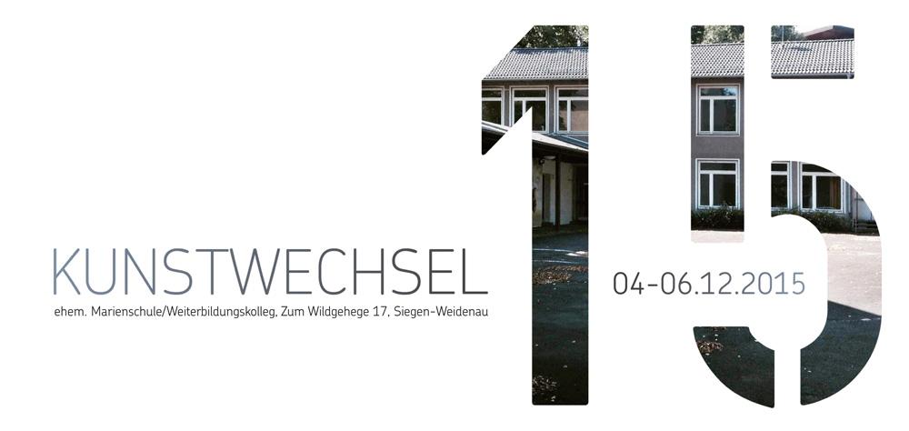 KUNSTWECHSEL 2015 Künstler und Programm