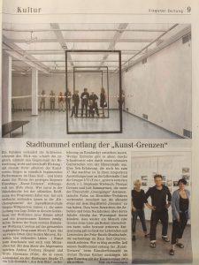 Artikel Siegener Zeitung Siegener Kunsttag 2016 gruppe 3/55
