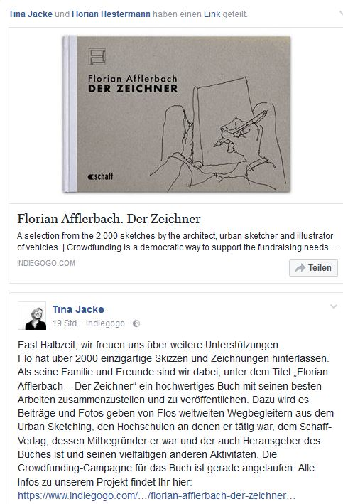 Florian Afflerbach Skizzenbuch
