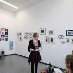 Kunstwechsel 2017 Nina Koch bei Silke Krah und Mirjam Elburn