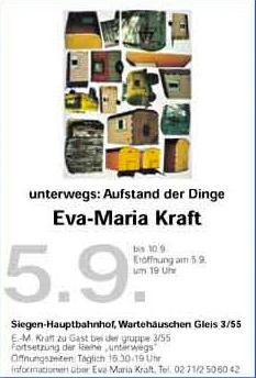 unterwegs2003 Eva-Maria Kraft