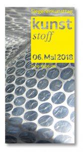 Kunsttag Siegen KUNSTstoff Programm