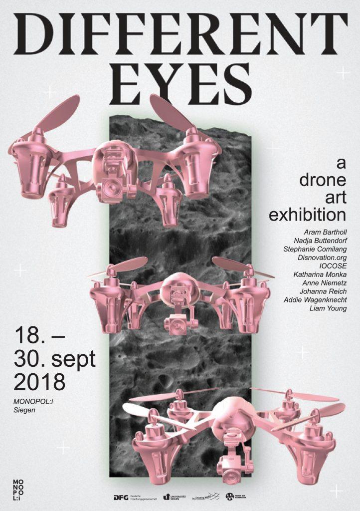 MONOPOLi gruppe 3/55 Ausstellungseröffnung different eyes a drone art exhibition im MONOPOLi gruppe 3/55